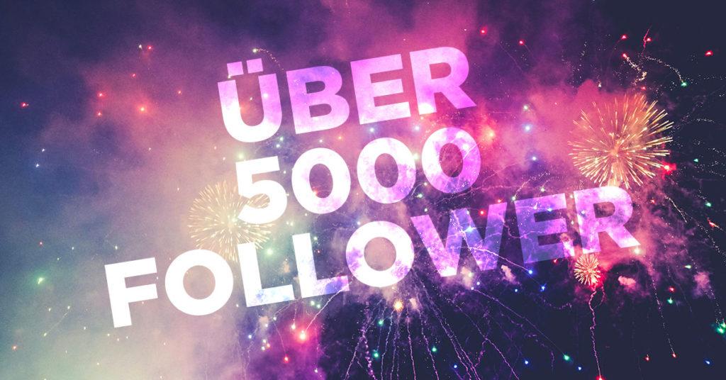 Über 5000 Follower auf LinkedIn