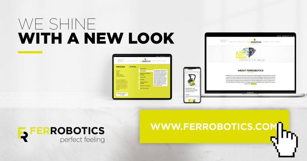 New FerRobotics Website Online