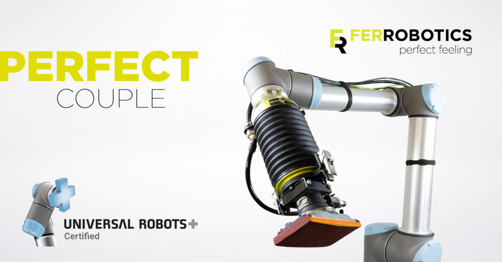 Universal Robots with FerRobotics End-Effectors for Cobots