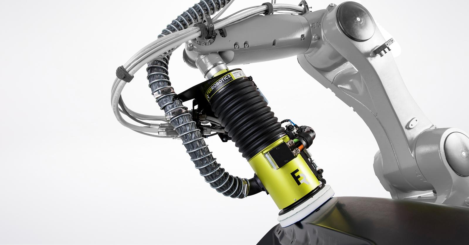 Systemintegrator FerRobotics Automatisierung automation robotic robotik schleifen sanding grinding polishing endeffektor