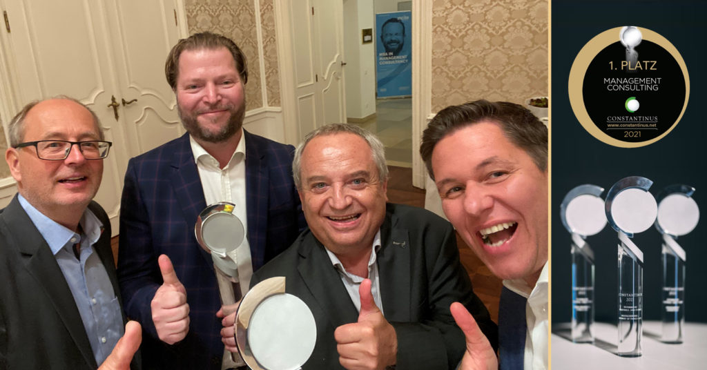 Constantinus Award 2021 Winner Management Consulting